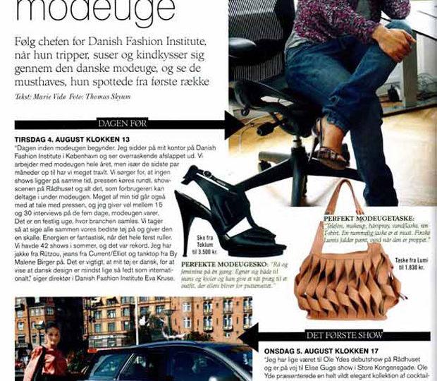 Lumi Featured in Danish Costume Magazine