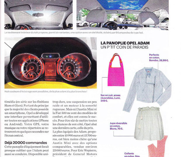 LUMI featured in Le Parisien
