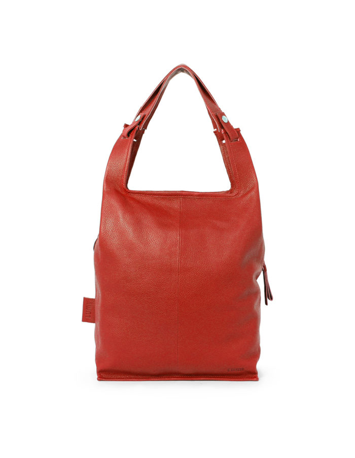 LUMI Supermarket Bag L in red