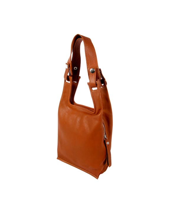 Lumi Laukut Suomi : Eco supermarket bag small cognac lumi accessories