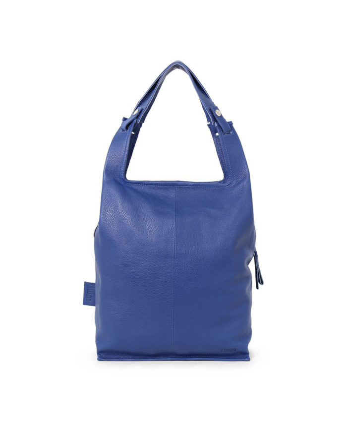 LUMI Classic Large Suprmarket bag in Finland blue