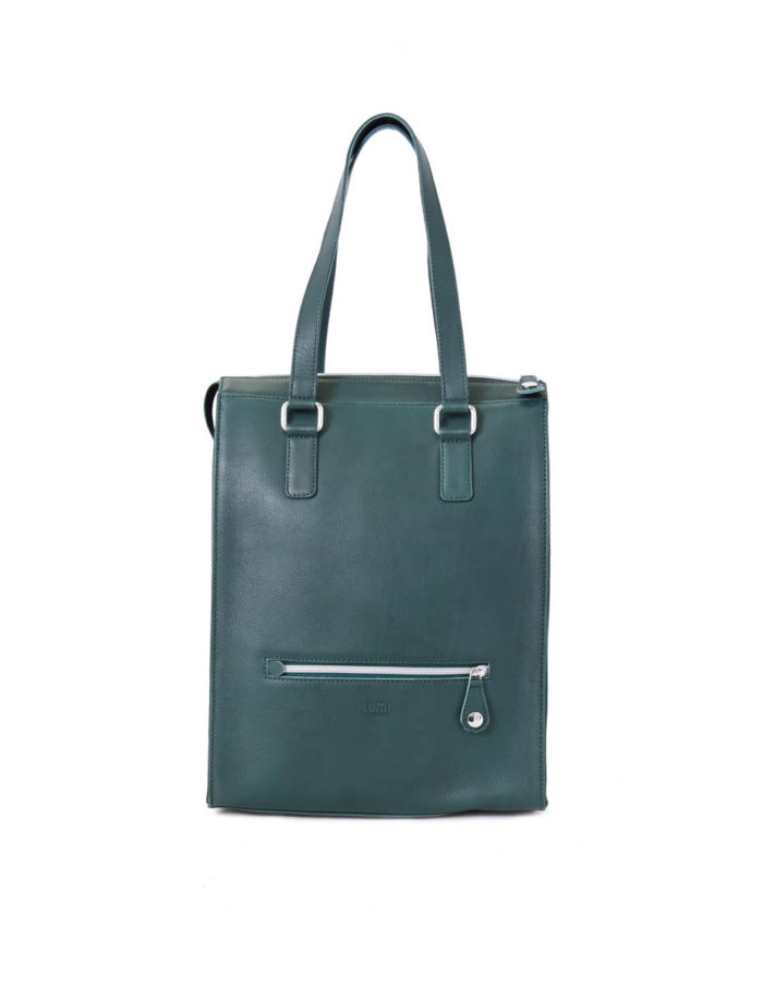 Johanna Tote bag in perry green.