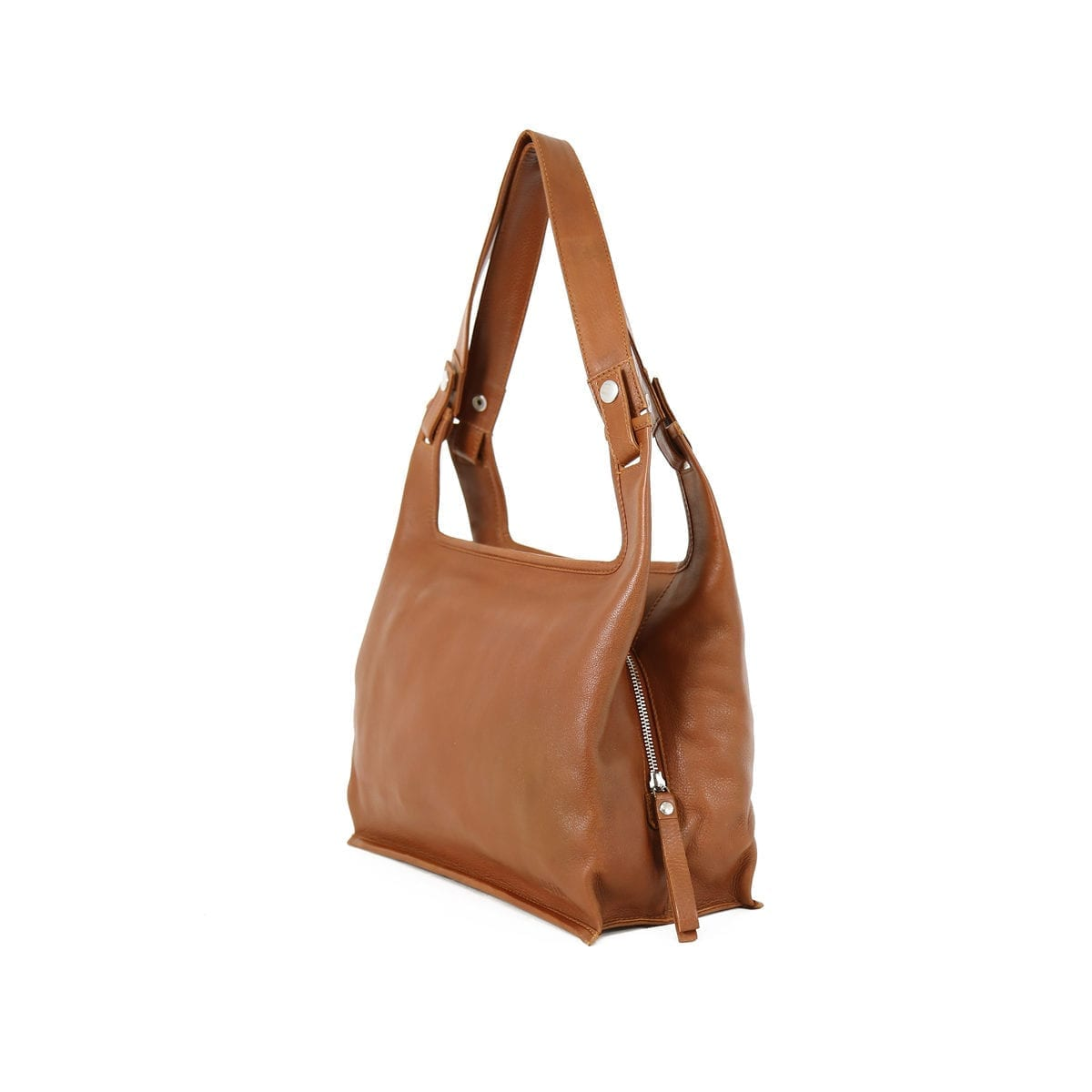 Supermarket Bag Eco Medium Cognac