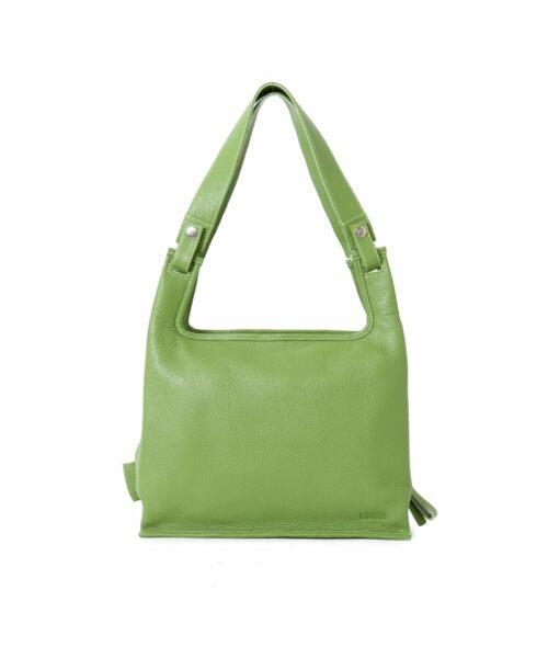 Supermarket Bag Medium in moss green