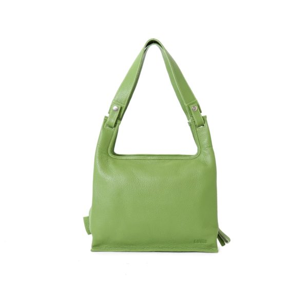Supermarket Bag Medium in moss green