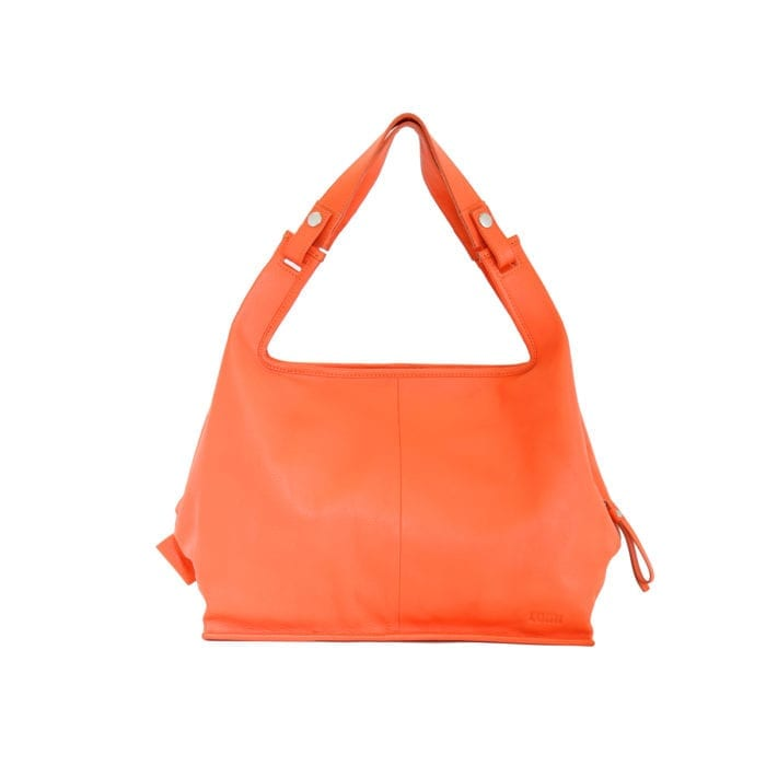 LUMI Supermarket Bag XL in bright light coral.