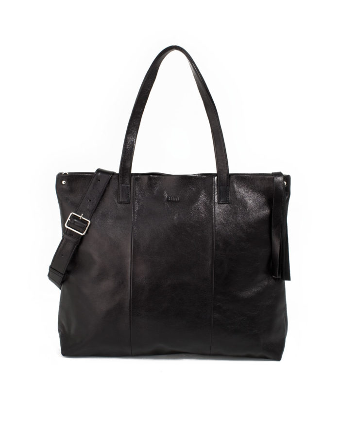 Lumi Hanna Tote Bag Black