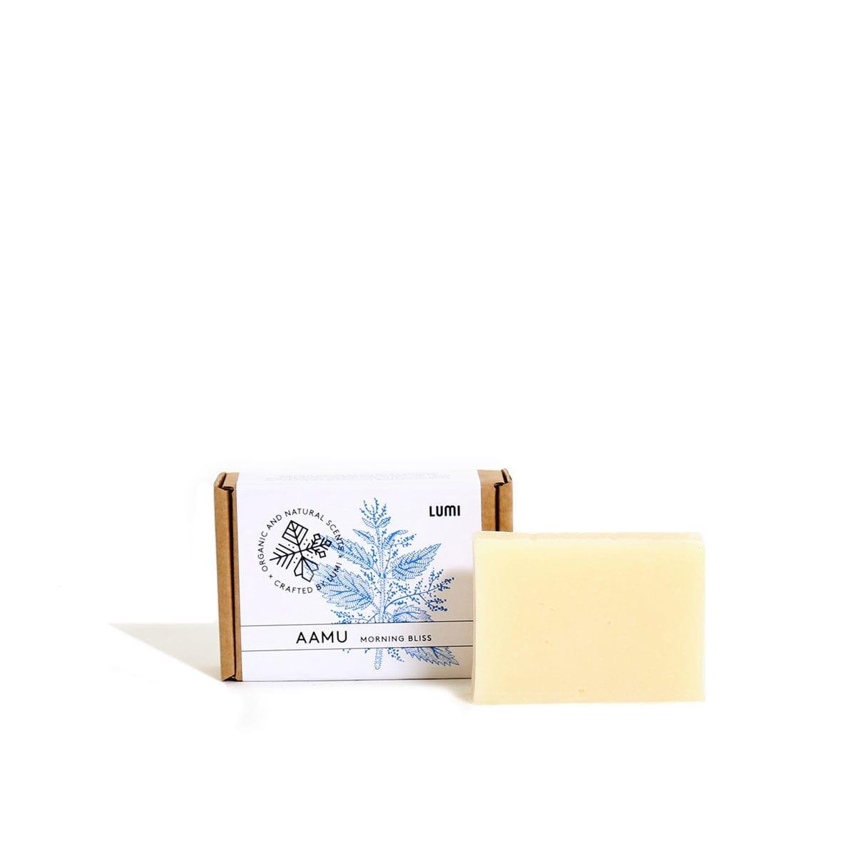 "147ef32a LUMI Aamu ""Morning Bliss"" soap in a botanical scent, reminding you of  refreshing"