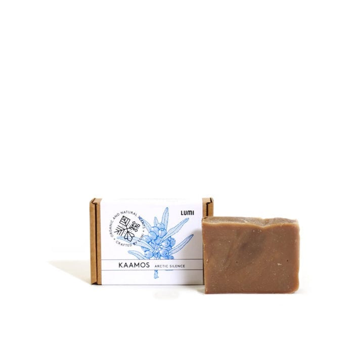 "6dd515a5 LUMI Kaamos ""Arctic Silence"" soap in a botanical scent, reminding you of the"