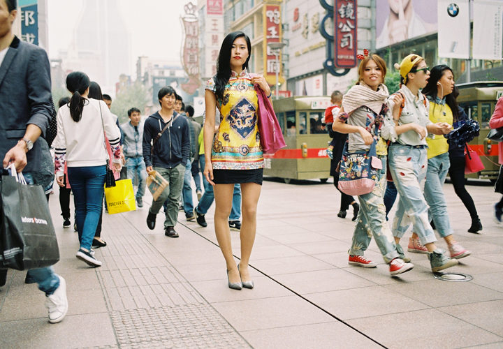 Fashion Goes Around in Shanghai