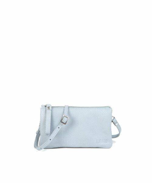 Classic Venla All-in-One Pouch, in sky blue. The timeless Venla pouch is one of our bestsellers, and we know why! It is small and functional. In other word, the perfect bag to safe-keep your daily essentials.