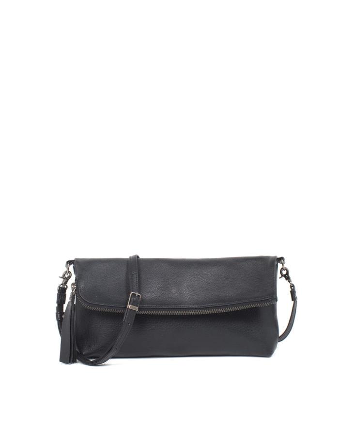 Lumi Stefanie Large Pouch Bag Black
