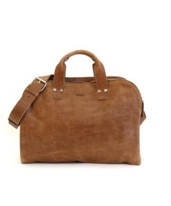 LUMI James Business Bag, in beige, is all about urban functionality. Created using vegetable tanned leather.