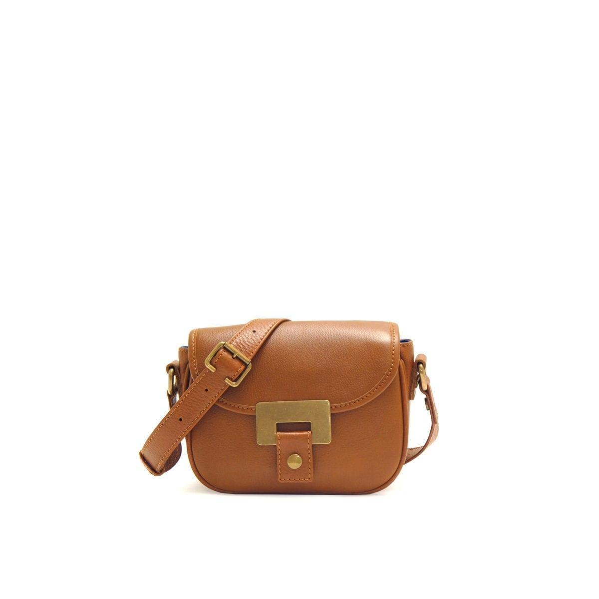 edc48f6352 Olivia Mini Saddler Cognac – Lumi Accessories