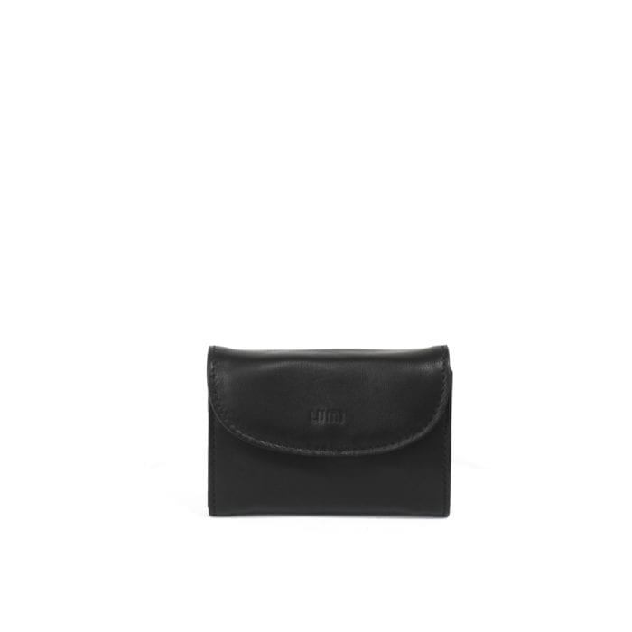 LUMI Åsa Card Wallet, in black.