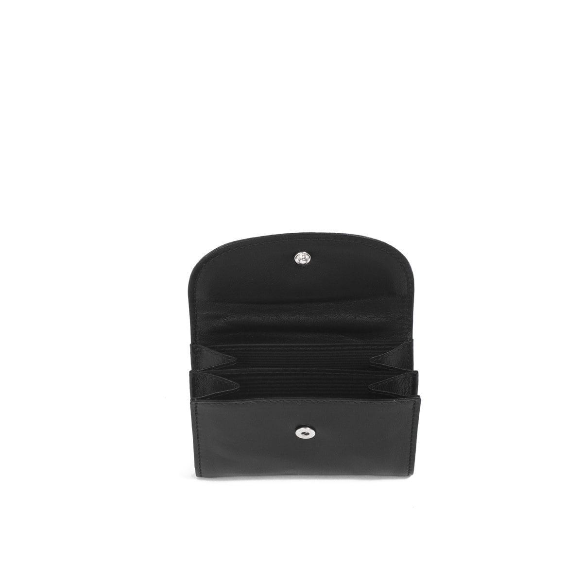 LUMI Åsa Card Wallet, in black.