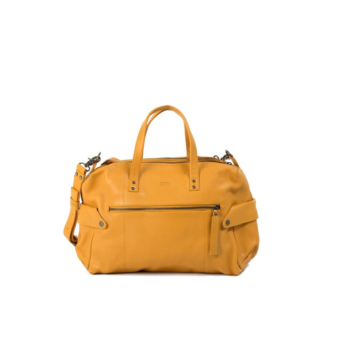 Lumi Laukku M : Nelli satchel mellow yellow lumi accessories