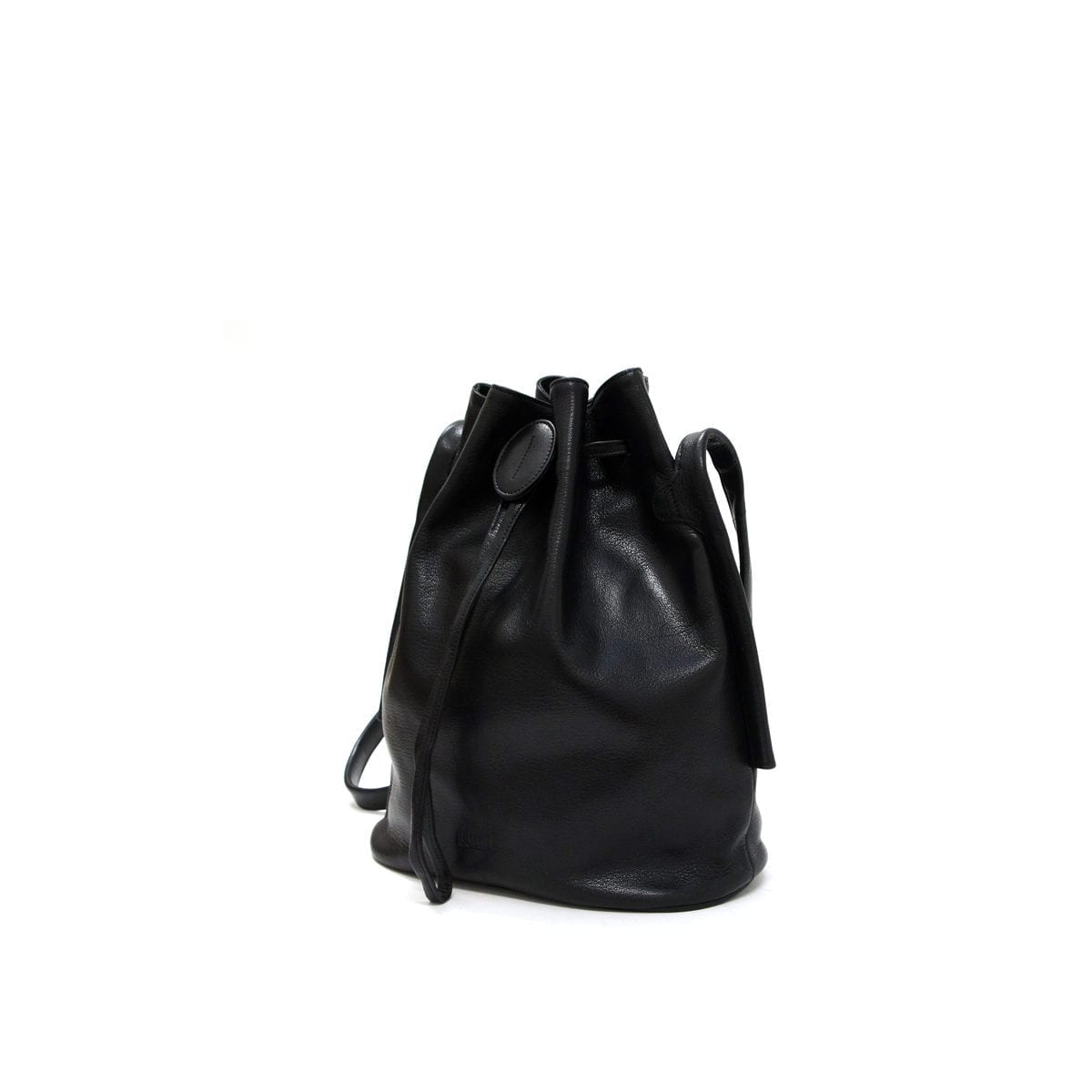 Lumi Verna Large Bucket Bag Black