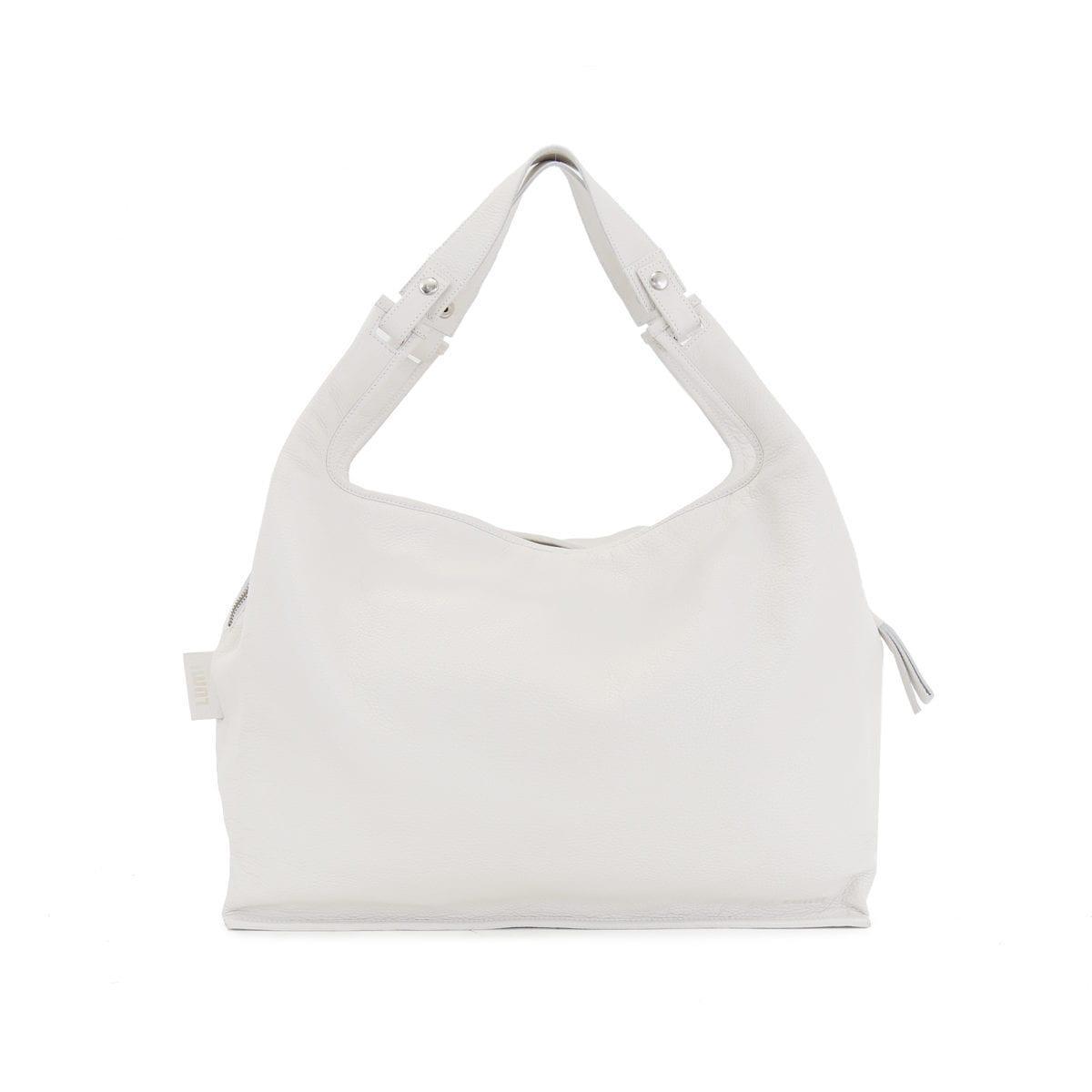 LUMI XXL Supermarket Bag in Ice White
