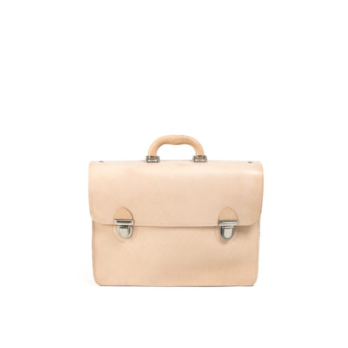 63df5db81db8 LUMI Mika Postman Bag is created using natural vegetable tanned cow leather.
