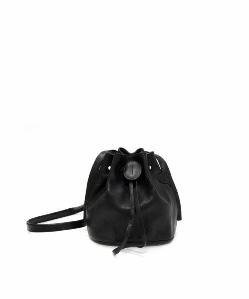 Lumi Beata Small Bucket Bag Black
