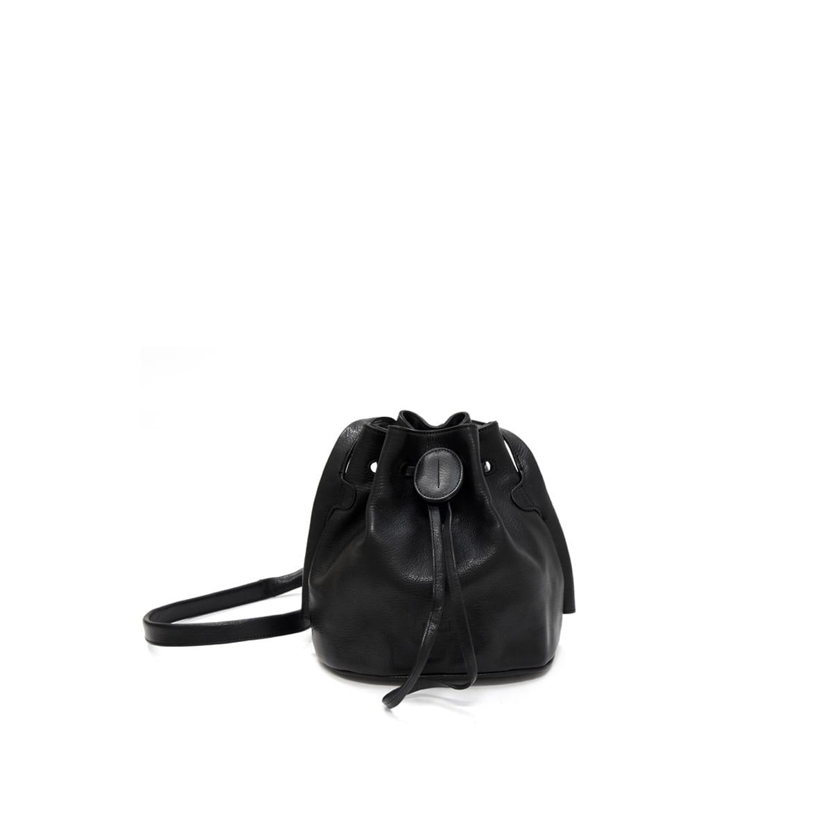 9b6eee8924079 Beata Small Bucket Bag Black – Lumi Accessories