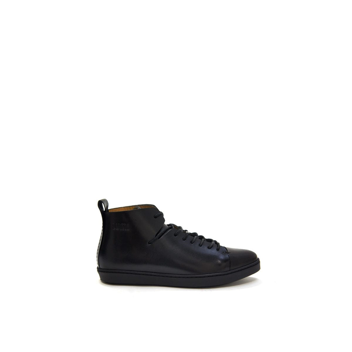 LUMI Tuulia Derby Shoe, in black.