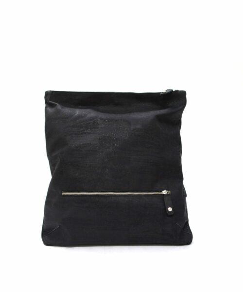 LUMI Oskar Backpack, in black.