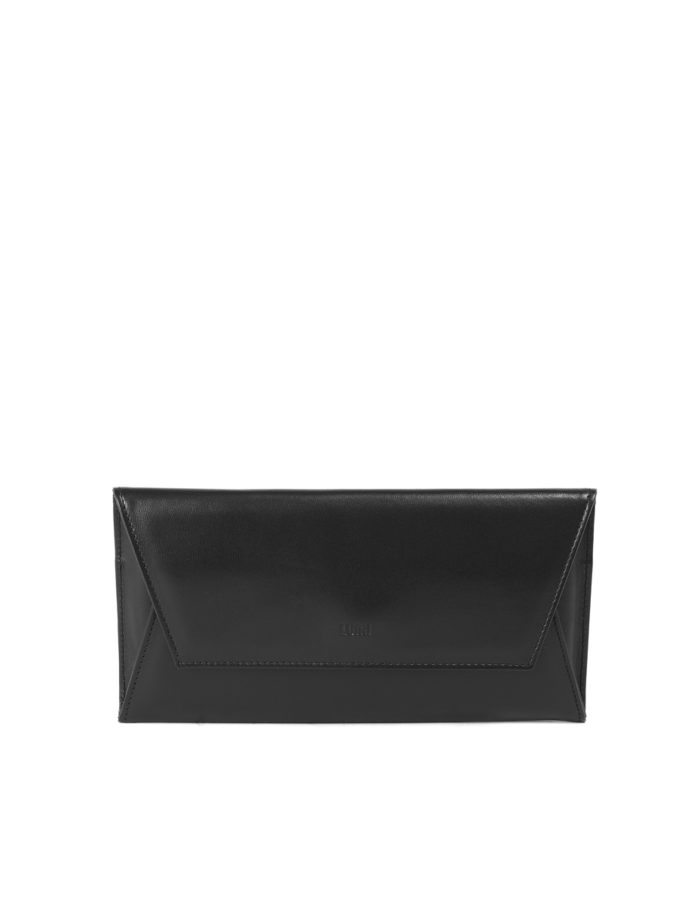 LUMI Talvikki Envelope Wallet, in black.
