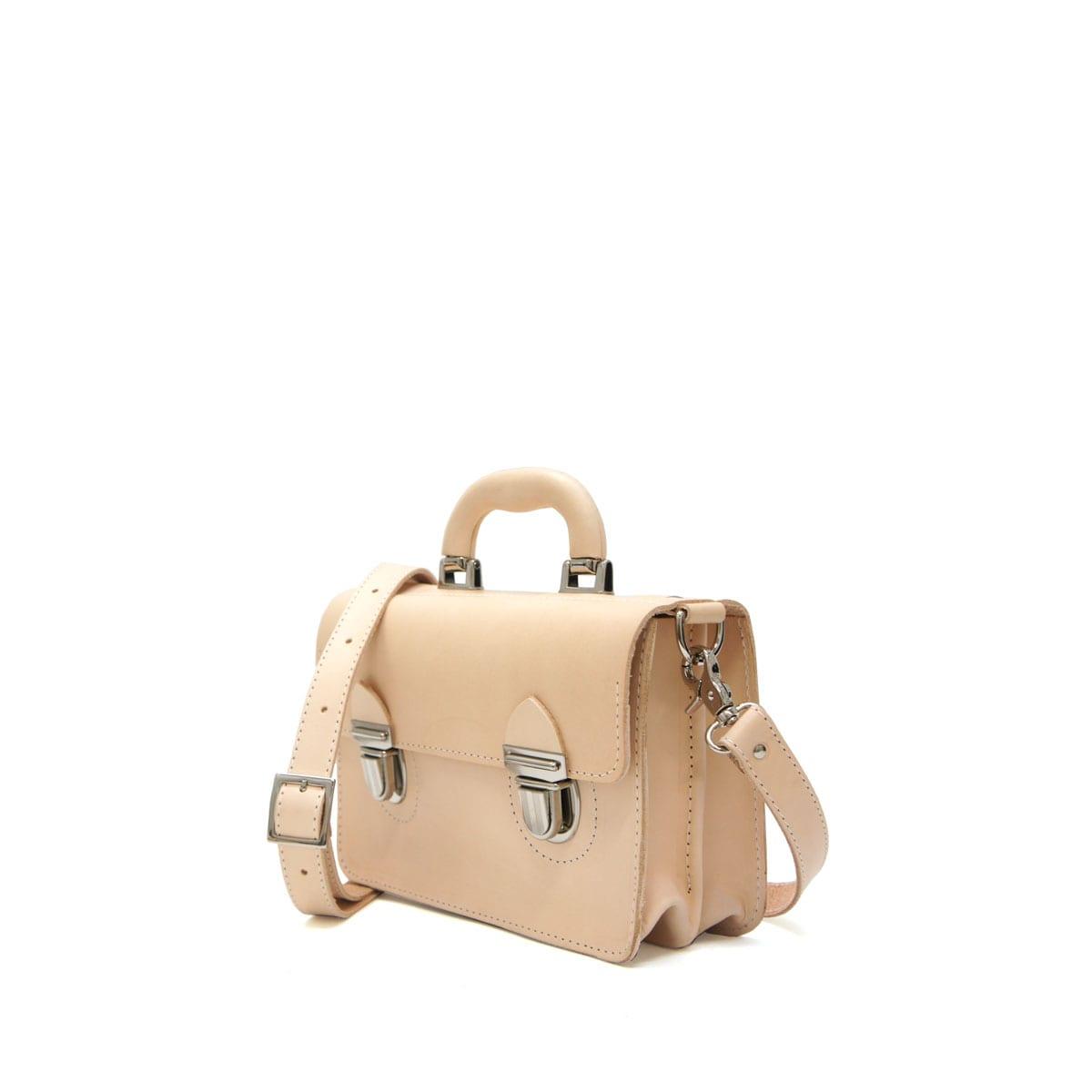 Miki Small Postman Bag Natural Lumi Accessories