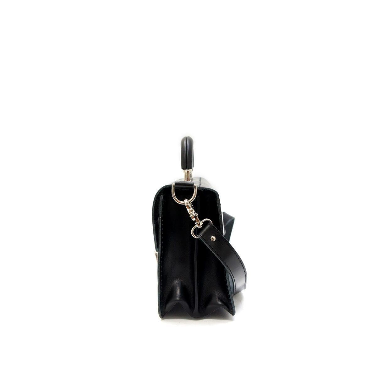 LUMI Miki Small Postman Bag, in black.
