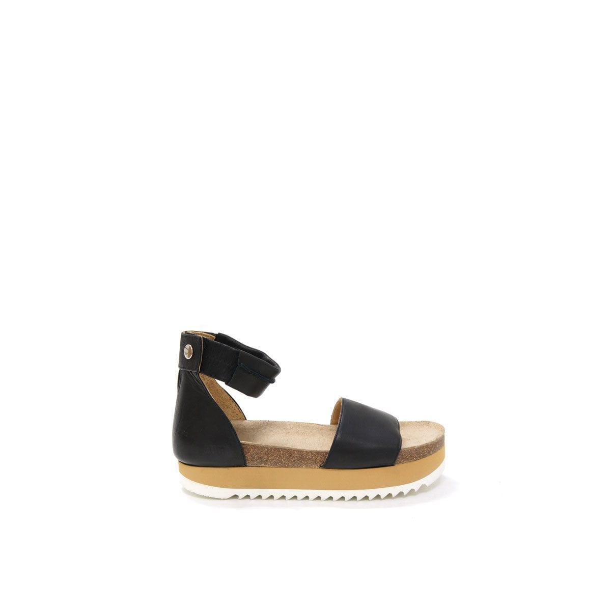 1f24d9dd87aa Birgitta Cork Sandal Black – Lumi Accessories