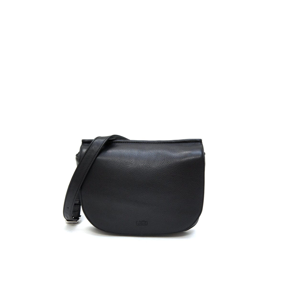 462674bdcf Laila Flat Cross Body Bag Black – Lumi Accessories