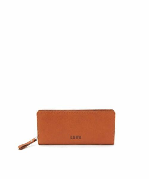 LUMI Supermarket Large Wallet, in cognac