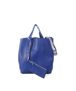 LUMI Frida Small Tote Floater, in blue/silver, is from our Limited Edition.