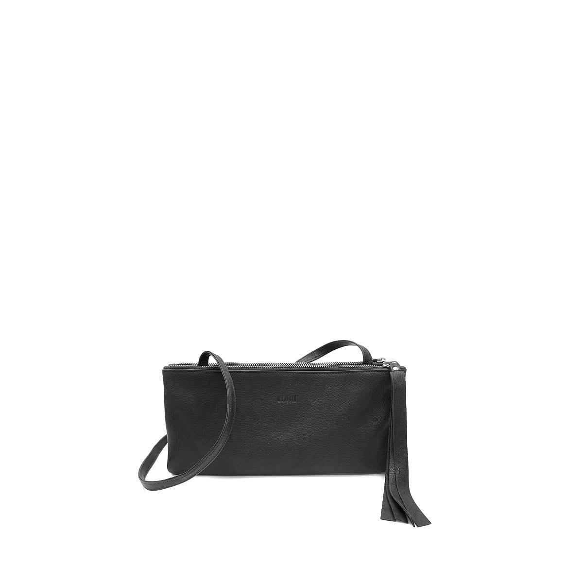 LUMI Inkeri Double Clutch, in black.