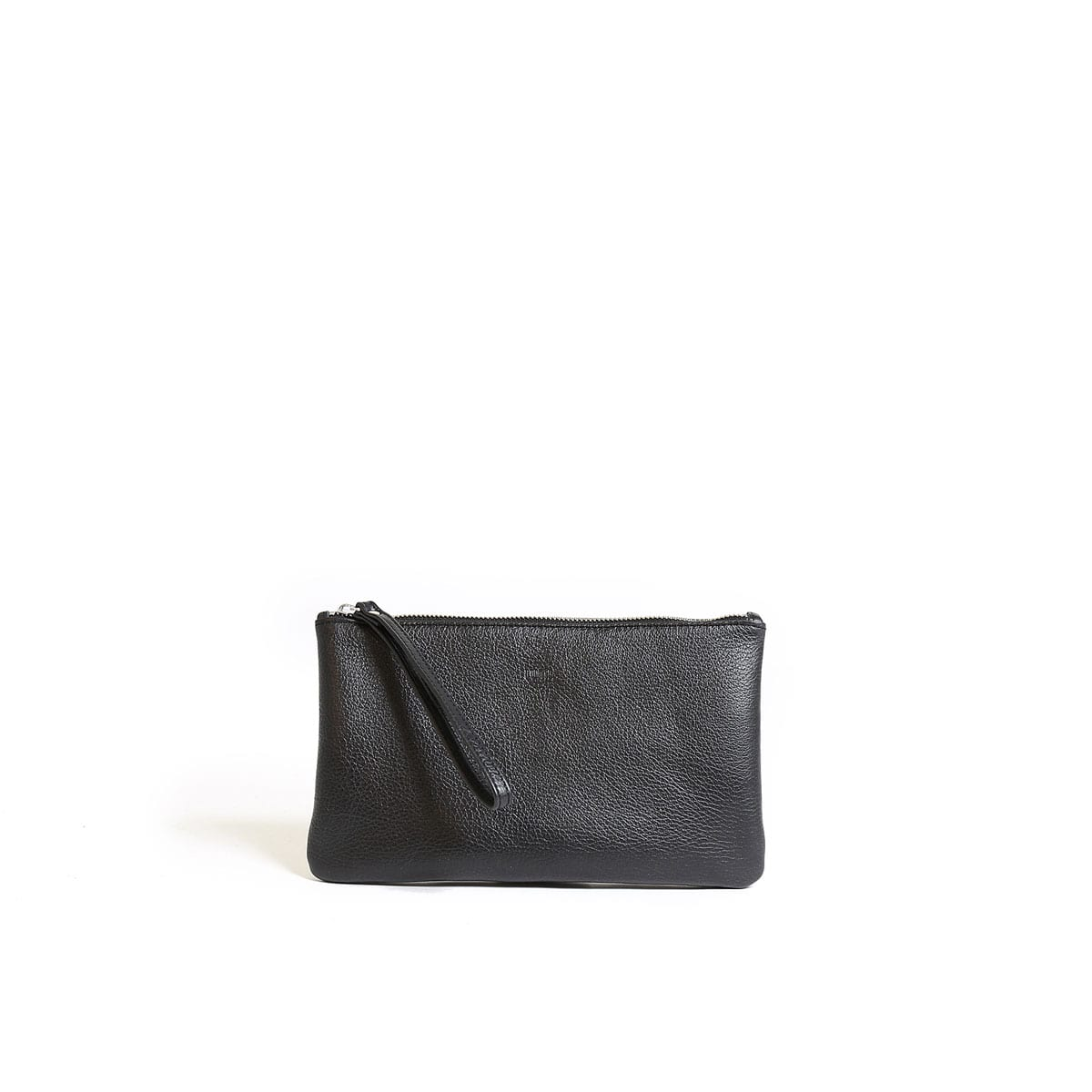 Black Clutch. Enjoy the delicate beauty of a black clutch. Compact and elegant, clutch handbags are ideal for evening wear or simply a smaller alternative to regular sized purses. Find clutches with golden chain handles, glistening sequins and other embellishments to accessorize your attire.