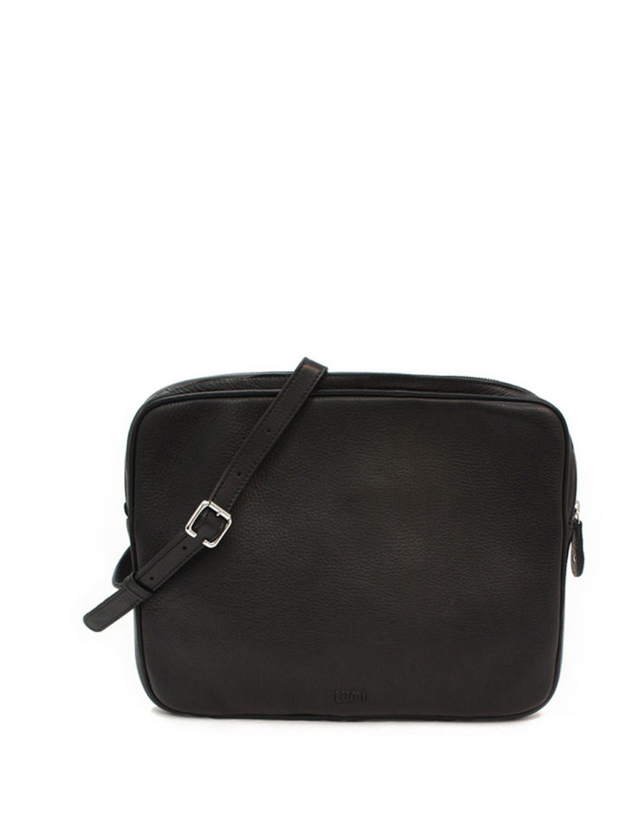 LUMI Blanca Laptop Bag, in black.