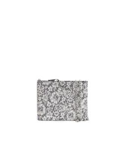LUMI Laura Envelope Clutch, in lace black.