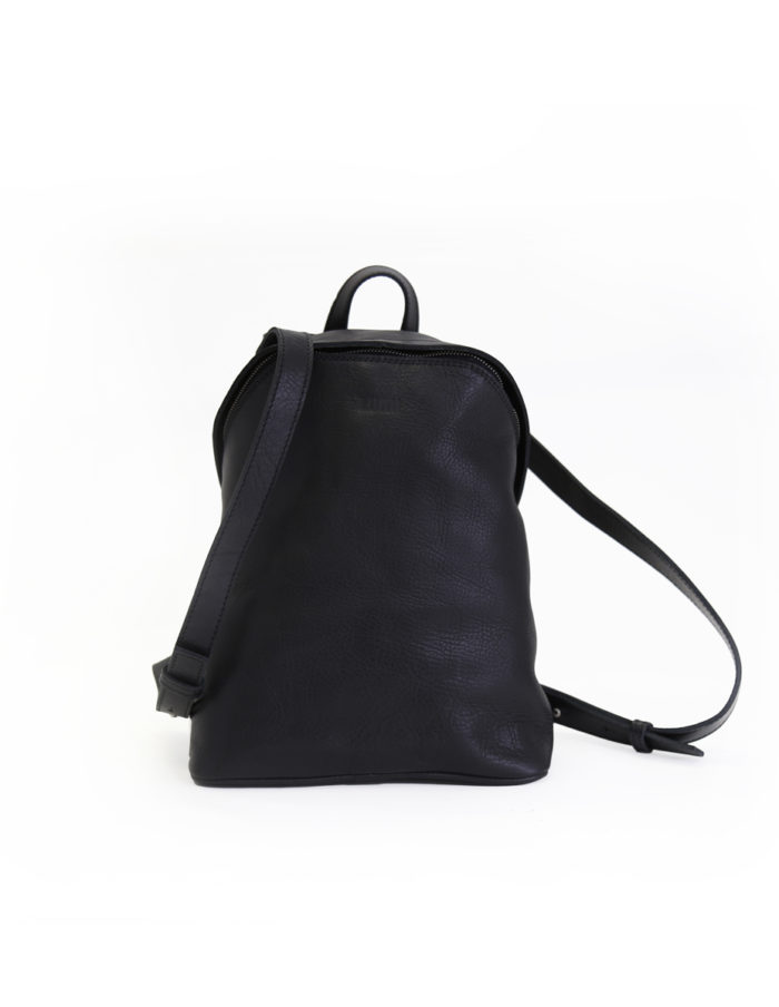 LUMI Tapio Backpack, in black, is all about urban functionality.