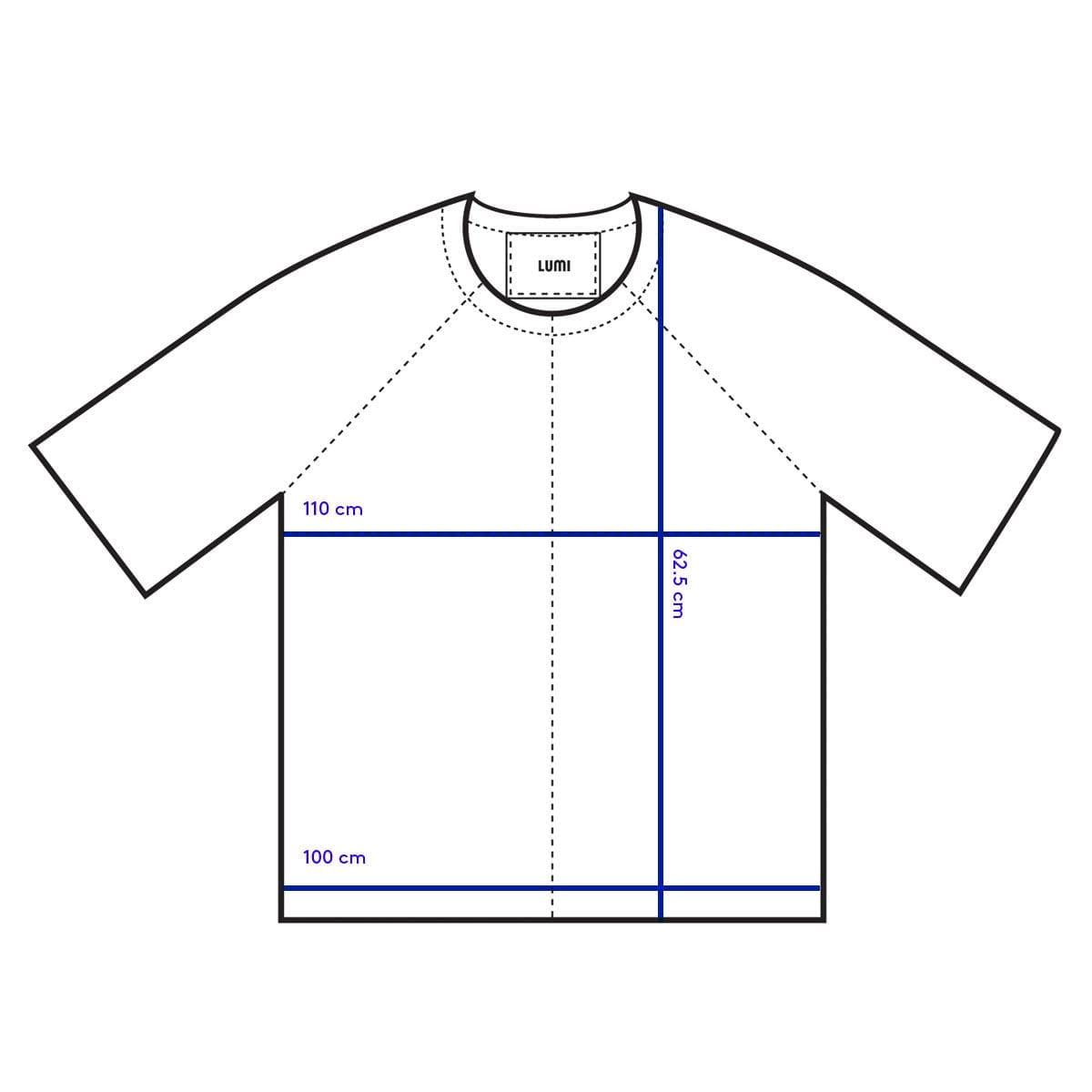 LUMI Leather Garments T-Shirt (medium) measurements