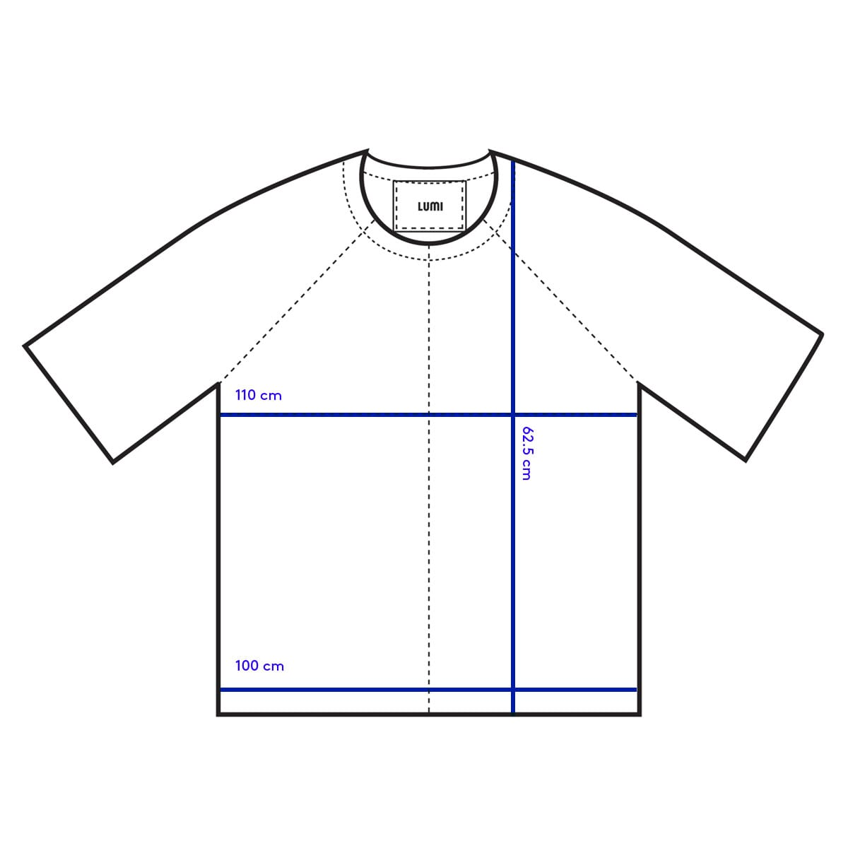 LUMI Leather Garments T-Shirt (medium) measurements