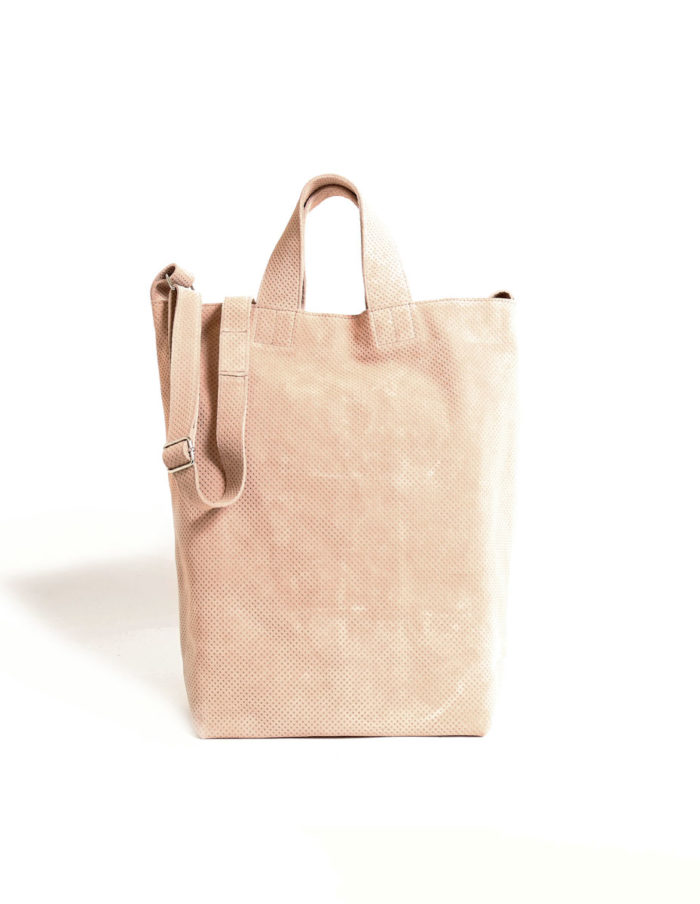 LUMI Destination Tote, in beige