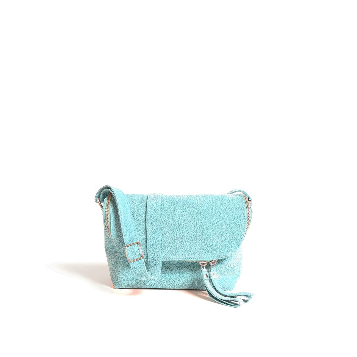 Rita Mini Bag Bubbles Turquoise