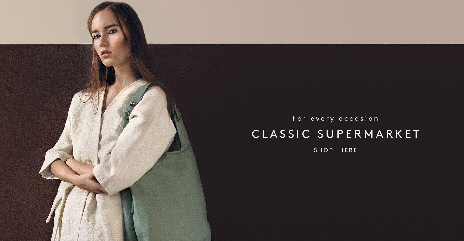 Lumi Classic Supermarket Bag SS17