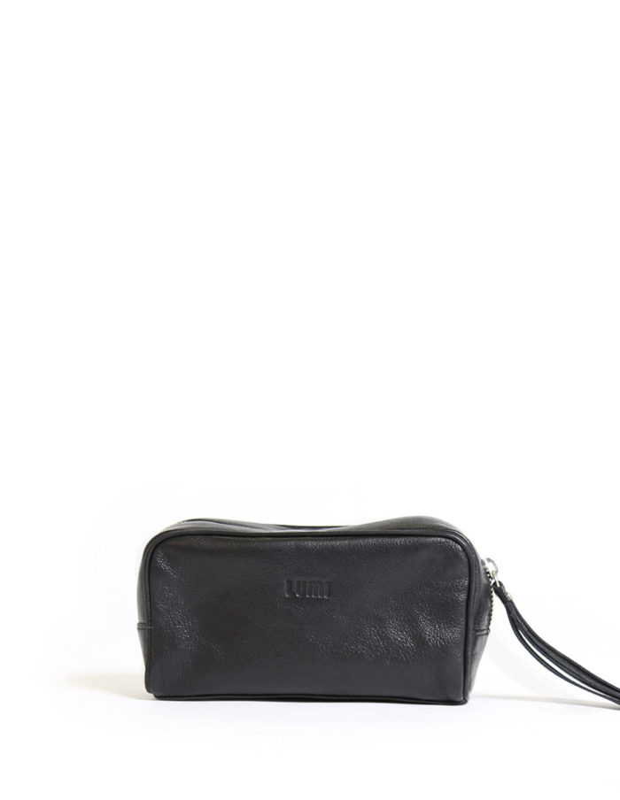 Lumi Andrea Cosmetic Bag Black