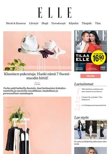 ELLE Finland 24.3.2017