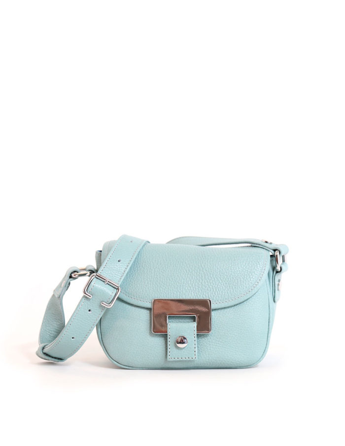 LUMI Olivia Mini Saddler, in Cielo blue.