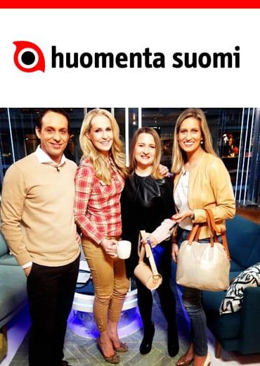 LUMI CEO Sanna Kantola's interview on Huomenta Suomi morning show