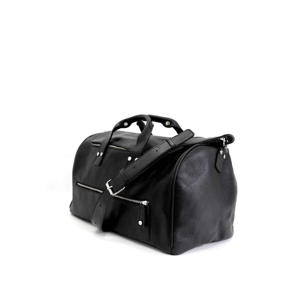 LUMI Kari Gym Bag, in black. This roomy gym bag to fits all your workout essentials